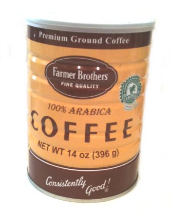 Farmer Brothers 100% Arabica Coffee, Classic Can- 14 Oz.